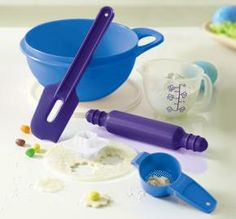 Tupperware | My First Baking Set - Great new colors in our children's line! www.my.tupperware.com/catherineboltz