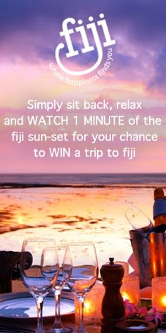 Win a Trip to Fiji for 2