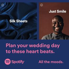 Planning a wedding is already a challenge. We've got inspiration to keep your DJ on track. Spotify has music for every mood.