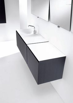 Flow Minimalist Functional Bathroom Furniture