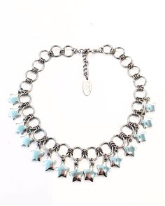 Collar Stars Wire Jewelry, Jewelry Crafts, Beaded Jewelry, Jewelery, Chainmaille, Jewelry Trends, Metal Working, Chokers, Jewelry Design