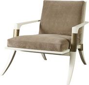 Athens Lounge Chair - Baker The Thomas Pheasant Collection