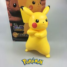 "New Arriving Pokemon Anime 8"" POKEMON Pikachu Figure Toys Cartoon Movie Action Figure Toys Japanese Doll Lovely Gift 20CM"