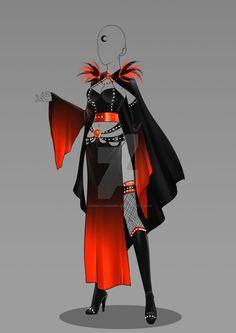(OPEN) Auction Adopt - Outfit 342 by CherrysDesigns.deviantart.com on @DeviantArt