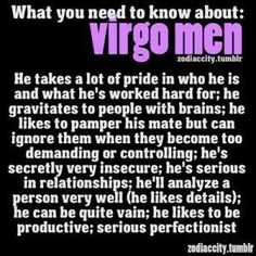How do you know if virgo man likes you