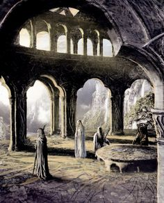 """ioda: A White Council first met in c. S.A. 1701.At this meeting it was decided that Imladris should become the stronghold of the Elves in Eriador, rather than Eregion. No members are mentioned explicitly, but it is implied that at least Gil-galad and Elrond were members because Gil-galad gave Vilya to Elrond 'At that time also'.It seems likely that the """"White Council"""" of the Third Age echoed this """"White Council"""" of the Second Age."""
