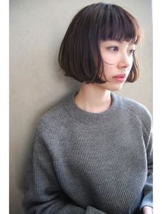 Medium Bob Hairstyles Ideas For Women - Ready To Meal Bobbed Hairstyles With Fringe, Haircuts Straight Hair, Medium Bob Hairstyles, Short Bob Haircuts, Girl Haircuts, Pretty Hairstyles, Haircut Medium, Medium Hair Cuts, Medium Hair Styles
