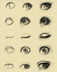olhos de Referência 2 por ryky em DeviantArt