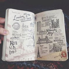 Travel book dessins***