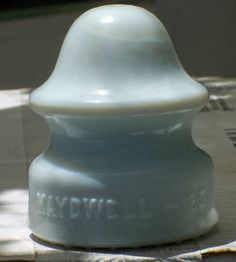 MILK GLASS INSULATOR