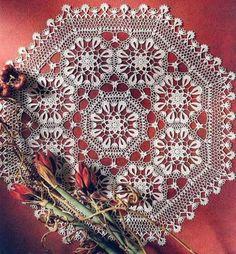 Crochet Art: Crochet Doily Pattern - Beautiful