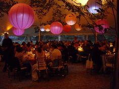 #Romantic in the tent at night... #Wedding #Berkshires
