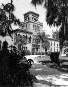 John Ringling mansion, Ca'd'Zan, in Sarasota, Florida. (1958?)