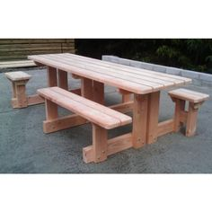 Massive Double Disabled Access Picnic Bench