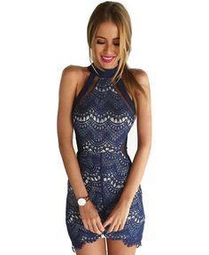 861ca86105 Elegant Off-shoulder Slim Fit Lace Dress Prom Dresses