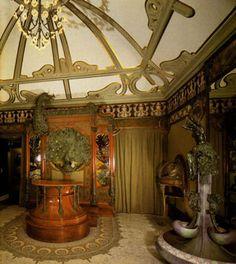 Интерьер ювелирного магазина Жоржа Фуке, А. Муха, Париж, 1900-1901