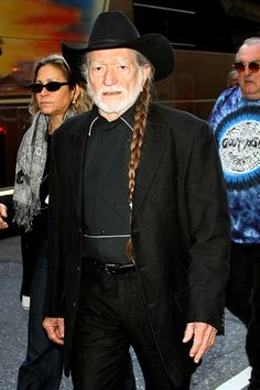 Willie Nelson Cut Off Braids