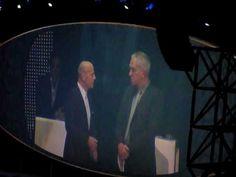 LR  - Bruce Willis on the stage 19.06.2010 Frankfurt