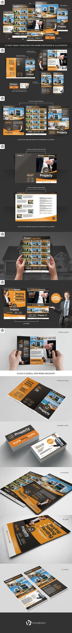 Real Estate Brochure Brochure Templates Pinterest Brochures - real estate brochure template