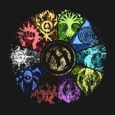 Magic the Gathering   Faded Guild Wheel