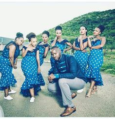 African Bridesmaid Dresses, African Wedding Dress, African Print Dresses, African Print Fashion, African Fashion Dresses, African Dress, Traditional Wedding Attire, Traditional Outfits, African Attire