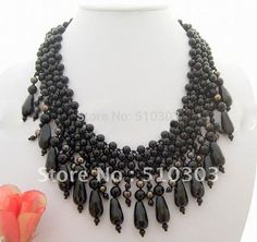 Pearl&Onyx Necklace