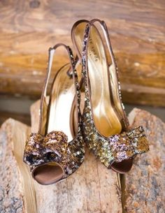 Sparkle Bow Kate Spade Wedding Shoes by jasmine