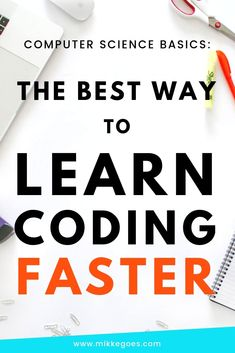 How Computer Science Basics Will Help You Learn Coding Faster Learning coding can feel difficult in the beginning. Understanding Computer Science basics can help you learn coding faster and more easily. Learn Computer Coding, Learn Computer Science, Best Computer, Learn Science, Computer Tips, How To Learn Coding, Basics Of Computer, Life Science, Computer Science Projects