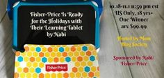Fisher-Price Nabi Learning Tablet Giveaway #giveaways #kidsgiveaway