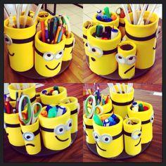 Color Me Creative! Tin Can Crafts, Jar Crafts, Bottle Crafts, Diy And Crafts, Craft Work For Kids, Diy For Kids, Crafts For Kids, Toilet Roll Craft, Anime Crafts