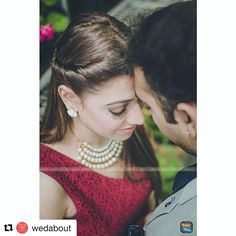 When your work constantly gets recognised and reposted on some amazing portals!! #thanks @wedabout and my fav phototographer @design_aqua_studio !! Prewedding shoot #makeoverbymanleen #loving it
