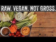 ▶ Party Dips   Raw. Vegan. Not Gross. - YouTube