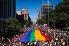 The 2004 Gay Parade in São Paulo, Brazil, was attended by over 3 million people. - Reuters