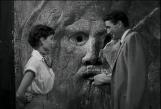 "Mouth of Truth, ""Roman Holiday"" (1953, starring Gregory Peck and Audrey Hepburn)"
