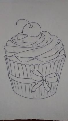 risco cupcake ana laura - Pesquisa Google