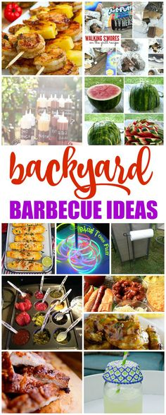 Backyard BBQ Ideas! Barbecue Recipes and Crafts for Family Fun all Summer Long!