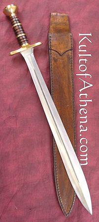 Ritter Steel Trojan War Sword