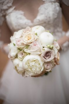 brides bouquet in pinks and white. Bride Bouquets, Brides, Wedding Flowers, Pink, Bridal Bouquets, The Bride, Bridal, Pink Hair, Roses