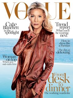 First look: Cate Blanchett for Vogue Australia February 2014