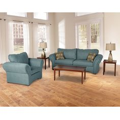 Woodhaven 7 Piece Living Room Group