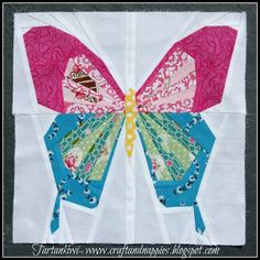 Paper Pieced Butterfly.