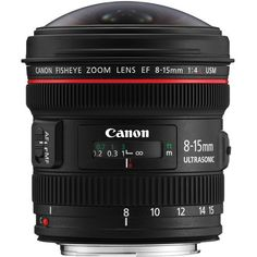 Canon EF 8-15mm f/4L Fisheye USM For filmmakers and photographers who want the look and feel only possible with extreme wide angle and fisheye photography, the new Canon EF 8-15mm f/4L Fisheye USM is