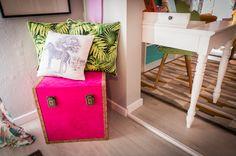Têxteis | Textiles | Almofadas | Cushions | Storage | Pink | Prints