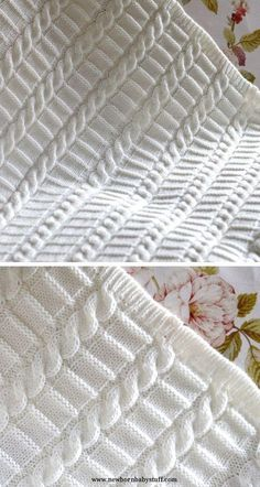 Pattern for Easy Cable Blanket - This pattern from Matilda's Meadow f.Knitting Pattern for Easy Cable Blanket - This pattern from Matilda's Meadow f. Easy Knitting pattern for baby blanket Instructions for 3 Motifs Afghans, Knitted Afghans, Knitted Baby Blankets, Baby Afghans, Large Knit Blanket, Cable Knit Blankets, Comfy Blankets, Baby Knitting Patterns, Afghan Patterns
