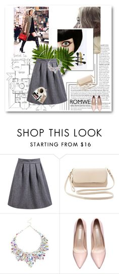 """""""Romwe contest"""" by fashion-572 ❤ liked on Polyvore featuring Charlotte Russe, Bobbi Brown Cosmetics, Casetify, women's clothing, women, female, woman, misses and juniors"""