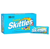 Tropical Skittles Candy.  http://affordablegrocery.com