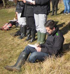 Field trip- borrowed wellies size 11