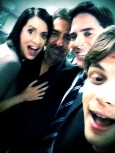 Criminal Minds Behind The Scenes (courtesy Thomas Gibson)  They seem like one of the best casts ,2nd to the NCIS cast ,to hang out with since they are all so silly.