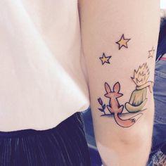 Risultati immagini per tattoo piccolo principe