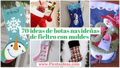 botas-navideñas-fiesta-ideas-min Fiesta Ideas, Christmas Stockings, Holiday Decor, Home Decor, Plastic Recycling, Needlepoint Christmas Stockings, Decoration Home, Room Decor, Christmas Leggings